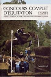 Concours complet d'équitation - maloine - 9782224019174 -