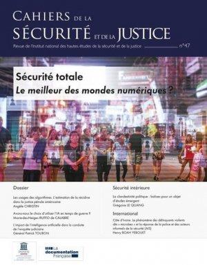 Cahiers de la sécurité N° 47 : Révolution numérique - La Documentation Française - 3303334701108 -