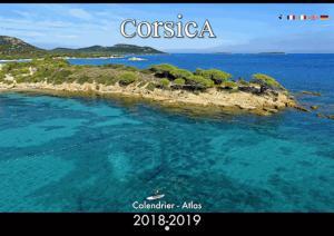 Calendrier Corsica Atlas A4 2018 - clementine - 3760093112772 -