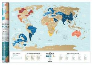 Carte à gratter Lagoon World 60 X 80 CM - 1DEA.ME - 4820191130524 -