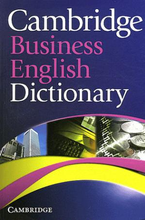 Cambridge Business English Dictionary : Paperback - cambridge - 9780521122504 -