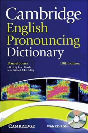 Cambridge English Pronouncing Dictionary : Paperback with CD-ROM - cambridge - 9780521152556 -