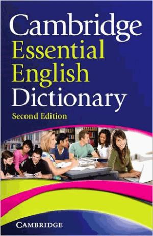 Cambridge Essential English Dictionary : Paperback - cambridge - 9780521170925 -