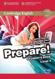 Cambridge English Prepare! Level 4 - Student's Book - cambridge - 9780521180276 -