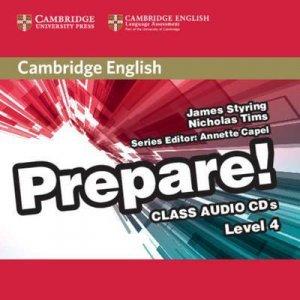 Cambridge English Prepare! Level 4 - Class Audio CDs (2) - cambridge - 9780521180306 -