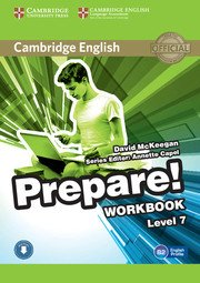 Cambridge English Prepare! Level 7 - Workbook with Audio - cambridge - 9780521180382 -