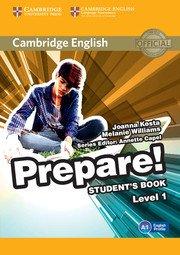 Cambridge English Prepare! Level 1 - Student's Book - cambridge - 9780521180436 -