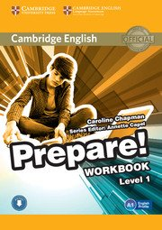 Cambridge English Prepare! Level 1 - Workbook with Audio - cambridge - 9780521180443 -