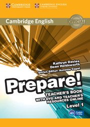 Cambridge English Prepare! Level 1 - Teacher's Book with DVD and Teacher's Resources Online - cambridge - 9780521180450 -