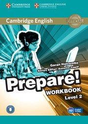 Cambridge English Prepare! Level 2 - Workbook with Audio - cambridge - 9780521180498 -