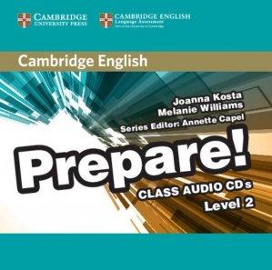Cambridge English Prepare! Level 2 - Class Audio CDs (2) - cambridge - 9780521180528 -