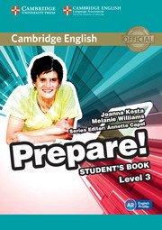 Cambridge English Prepare! Level 3 - Student's Book - cambridge - 9780521180542 -