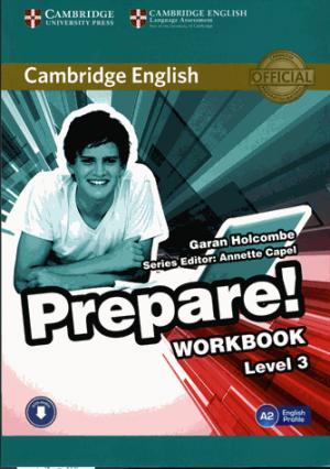 Cambridge English Prepare! Level 3 - Workbook with Audio - cambridge - 9780521180559 -