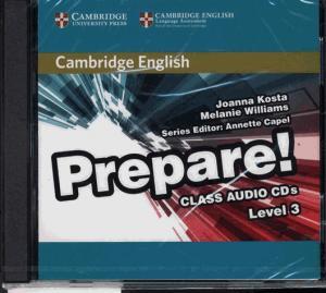 Cambridge English Prepare! Level 3 - Class Audio CDs (2) - cambridge - 9780521180573 -