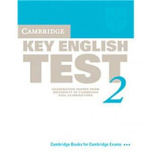 Cambridge Key English Test 2 - Student's Book Examination Papers from the University of Cambridge ESOL Examinations - cambridge - 9780521528122 -
