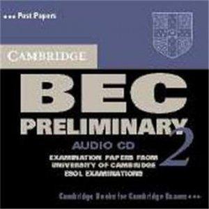 Cambridge BEC Preliminary 2 - Audio CD Examination papers from University of Cambridge ESOL Examinations - cambridge - 9780521544528 -