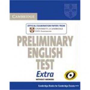 Cambridge Preliminary English Test Extra - Student's Book - cambridge - 9780521676670 -