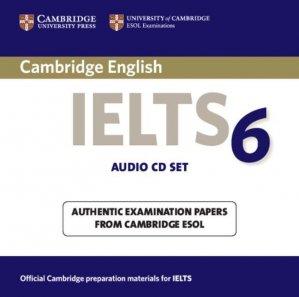 Cambridge IELTS 6 - Audio CDs Examination papers from University of Cambridge ESOL Examinations - cambridge - 9780521693103 -