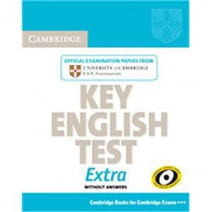 Cambridge Key English Test Extra - Student's Book - cambridge - 9780521714334 -