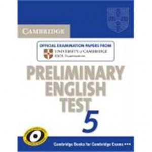 Cambridge Preliminary English Test 5 - Student's Book without Answers - cambridge - 9780521714372 -