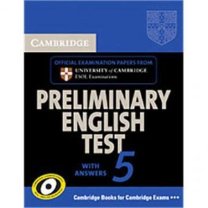 Cambridge Preliminary English Test 5 - Student's Book with Answers - cambridge - 9780521714389 -