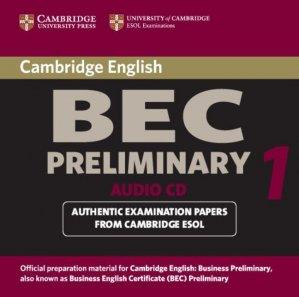 Cambridge BEC Preliminary - Audio CD Practice Tests from the University of Cambridge Local Examinations Syndicate - cambridge - 9780521753036 -