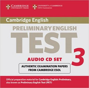 Cambridge Preliminary English Test 3 - Audio CD Set (2 CDs) Examination Papers from the University of Cambridge ESOL Examinations - cambridge - 9780521754767 -