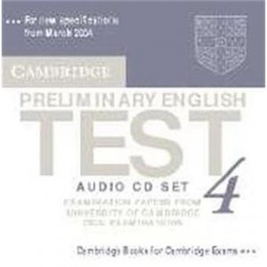 Cambridge Preliminary English Test 4 - Audio CD Set (2 CDs) Examination Papers from the University of Cambridge ESOL Examinations - cambridge - 9780521755313 -