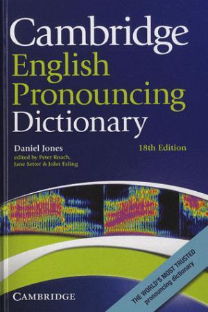 Cambridge English Pronouncing Dictionary : Hardback - cambridge - 9780521765756 -