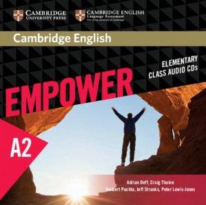 Cambridge English Empower, Elementary - Class Audio CDs (3) - cambridge - 9781107466319 -