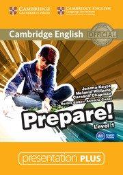 Cambridge English Prepare! Level 1 - Presentation Plus DVD-ROM - cambridge - 9781107497146 -