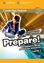 Cambridge English Prepare! Level 1 - Student's Book and Online Workbook - cambridge - 9781107497153 -