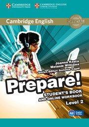 Cambridge English Prepare! Level 2 - Student's Book and Online Workbook - cambridge - 9781107497207 -