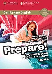 Cambridge English Prepare! Level 4 - Student's Book and Online Workbook - cambridge - 9781107497856 -