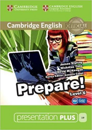 Cambridge English Prepare! Level 6 - Presentation Plus DVD-ROM - cambridge - 9781107497948 -