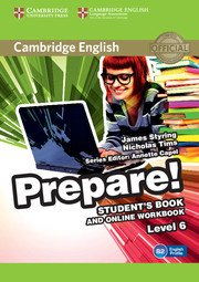 Cambridge English Prepare! Level 6 - Student's Book and Online Workbook - cambridge - 9781107497979 -