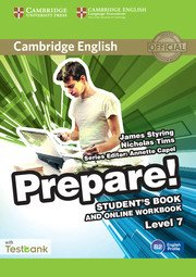 Cambridge English Prepare! Level 7 - Student's Book and Online Workbook with Testbank - cambridge - 9781107498006 -