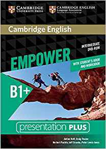 Cambridge English Empower, Intermediate - Presentation Plus DVD-ROM (with Student's Book and Workbook) - cambridge - 9781107562523 -