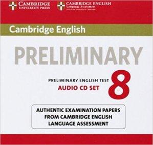 Cambridge English Preliminary 8 - Audio CDs (2) Authentic Examination Papers from Cambridge English Language Assessment - cambridge - 9781107672437 -