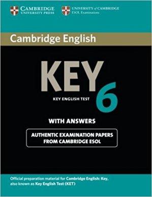 Cambridge English Key 6 - Student's Book with Answers - cambridge - 9781107679719 -