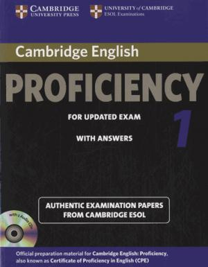 Cambridge English Proficiency 1 for Updated Exam - Self-study Pack (Student's Book with Answers and Audio CDs (2)) Authentic Examination Papers from Cambridge ESOL - cambridge - 9781107691643 -