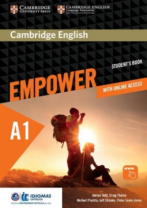 Cambridge English Empower Starter - Student's Book with Online Assessment and Practice, and Online Workbook (Idiomas Catolica Edition) - cambridge - 9781108410328
