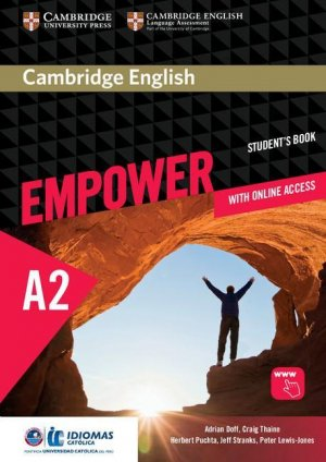 Cambridge English Empower Elementary - Student's Book with Online Assessment and Practice, and Online Workbook (Idiomas Catolica Edition) - cambridge - 9781108410335