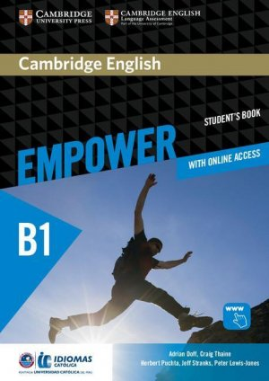 Cambridge English Empower Pre-intermediate - Student's Book with Online Assessment and Practice, and Online Workbook (Idiomas Catolica Edition) - cambridge - 9781108410342