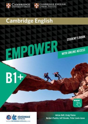 Cambridge English Empower Intermediate - Student's Book with Online Assessment and Practice, and Online Workbook (Idiomas Catolica Edition) - cambridge - 9781108410359