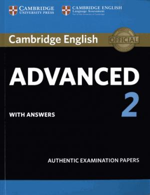 Cambridge English Advanced 2 - Student's Book with answers Authentic Examination Papers - cambridge - 9781316504505 -