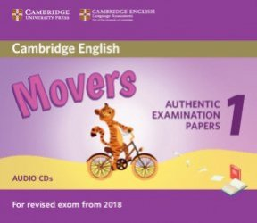 Cambridge English Movers 1 for Revised Exam from 2018 - Audio CDs (2) Authentic Examination Papers from Cambridge English Language Assessment - cambridge - 9781316635988