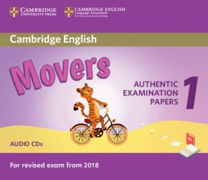 Cambridge English Movers 1 for Revised Exam from 2018 - Audio CDs (2) Authentic Examination Papers from Cambridge English Language Assessment - cambridge - 9781316635988 -