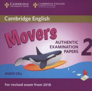 Cambridge English Young Learners 2 for Revised Exam from 2018 Movers - Audio CDs - cambridge - 9781316636305 -