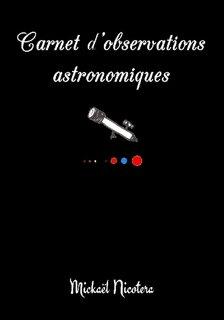 Carnet d'observations astronomiques - lulu - 9781326564223